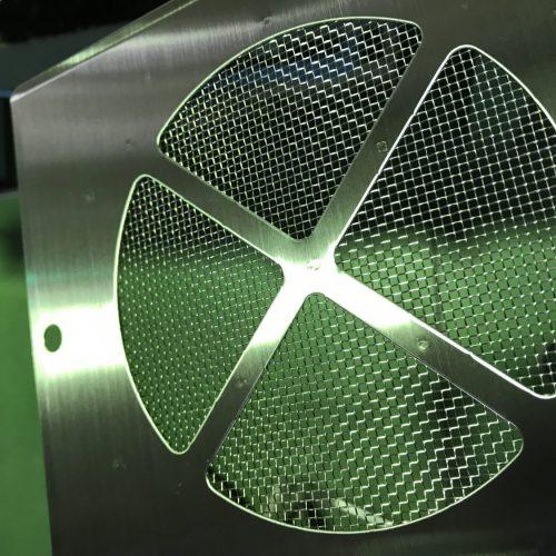 金網 スポット溶接